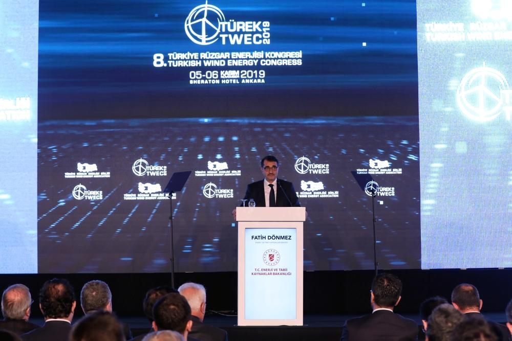 8. Türkiye Rüzgar Enerjisi Kongresi TÜREK 2019'Da Ilk Gün Sona Erdi