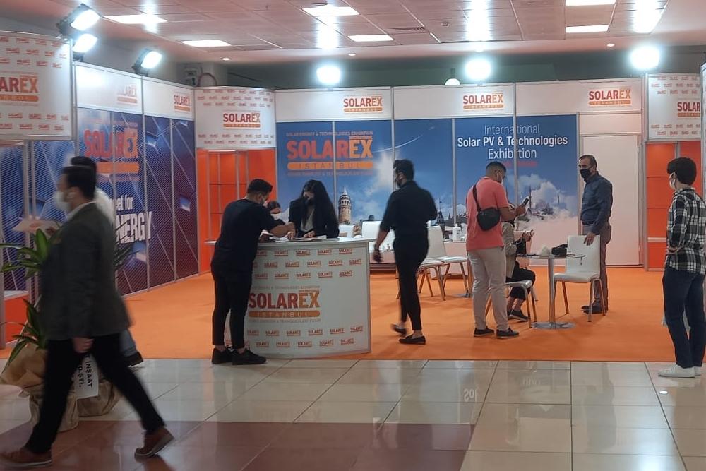 SOLAREX İstanbul 2021 kapılarını açtı.